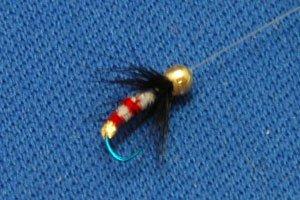 オリジナルハエ釣り毛ばり 戻付き毛ばり 6本組の画像3
