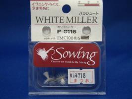 オーナー・sowing P-0116 #16 パラシュート 2ヶ入り (ホワイトミラー) の画像1