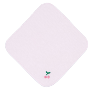 ミニタオル(さくらんぼ)ピンク・赤