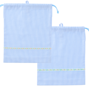 <img class='new_mark_img1' src='https://img.shop-pro.jp/img/new/icons15.gif' style='border:none;display:inline;margin:0px;padding:0px;width:auto;' />エプロン両巾着袋(コードレーン ブルー)