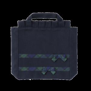 <img class='new_mark_img1' src='https://img.shop-pro.jp/img/new/icons15.gif' style='border:none;display:inline;margin:0px;padding:0px;width:auto;' />幼稚園受験用靴袋(タータンリボン 細リボン)