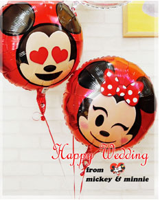 be happy like Mickey & Minnie!