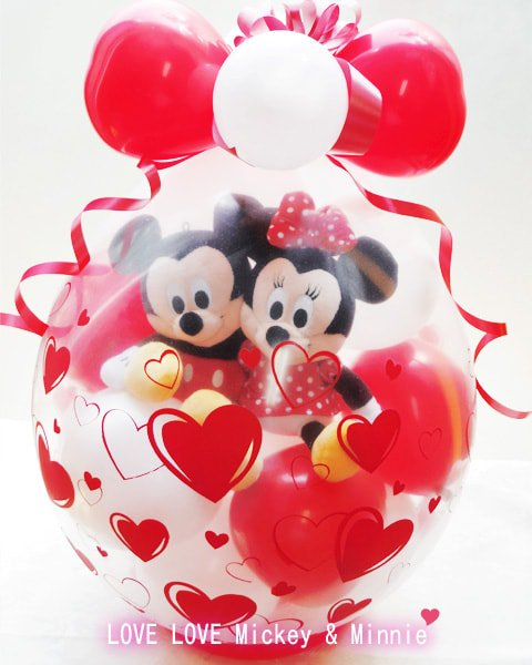 LOVE LOVE Mickey & Minnie<img class='new_mark_img2' src='https://img.shop-pro.jp/img/new/icons6.gif' style='border:none;display:inline;margin:0px;padding:0px;width:auto;' />