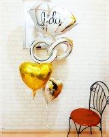 diamond ring(ゴールド&シルバー)