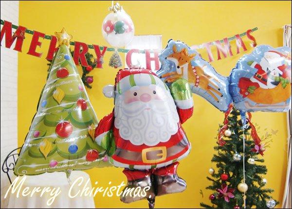 クリスマス バルーン特集