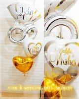 ring & wedding bell(ゴールド)