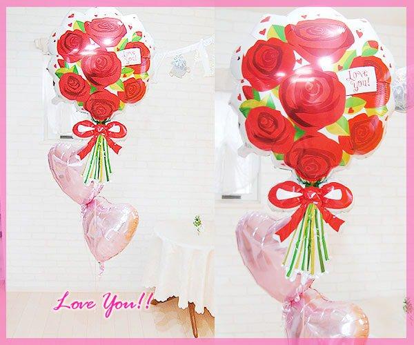 バルーン薔薇