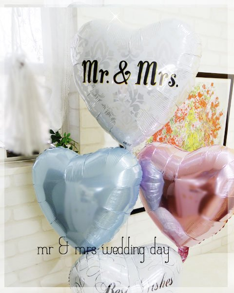 Mr & Mrs wedding day..<img class='new_mark_img2' src='https://img.shop-pro.jp/img/new/icons6.gif' style='border:none;display:inline;margin:0px;padding:0px;width:auto;' />