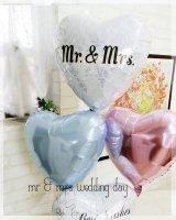Mr & Mrs wedding day〜落ち着いたさわやかなカップルへぜひ。<img class='new_mark_img2' src='https://img.shop-pro.jp/img/new/icons6.gif' style='border:none;display:inline;margin:0px;padding:0px;width:auto;' />