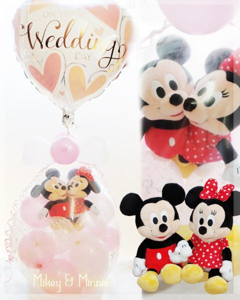 wedding Mickey & Minnie♪