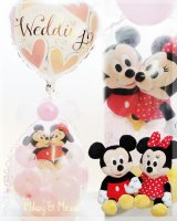 wedding Mickey & Minnie♪<img class='new_mark_img2' src='https://img.shop-pro.jp/img/new/icons6.gif' style='border:none;display:inline;margin:0px;padding:0px;width:auto;' />