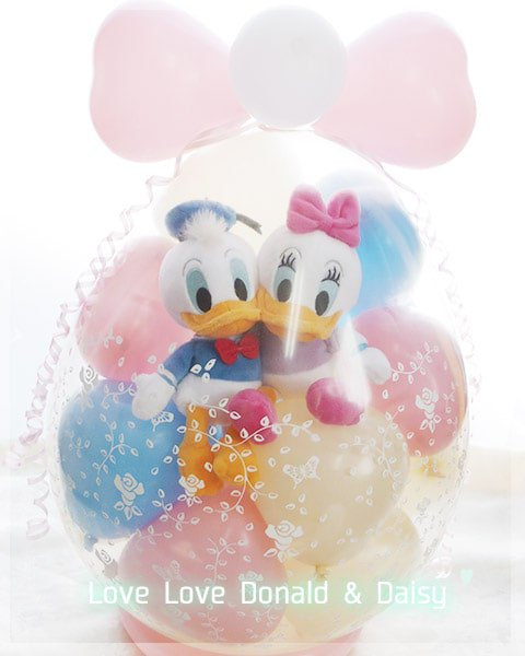 LOVE LOVE Donald & Daisy<img class='new_mark_img2' src='https://img.shop-pro.jp/img/new/icons6.gif' style='border:none;display:inline;margin:0px;padding:0px;width:auto;' />