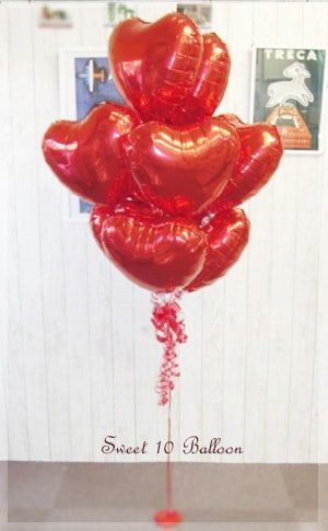 sweet 10 balloon