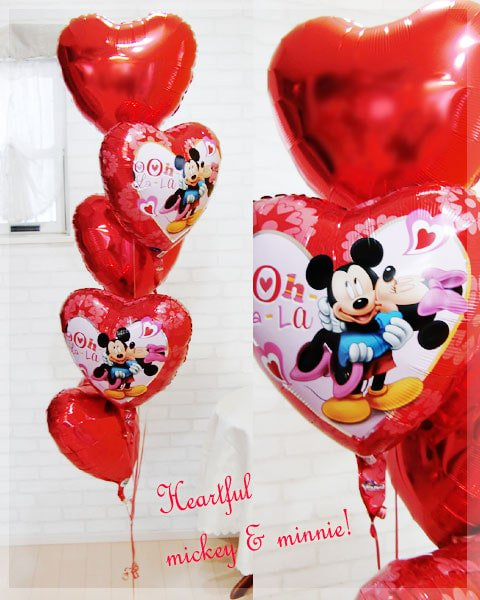 Heartful mickey & minnie!