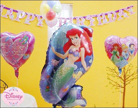 ディズニーの誕生日バルーン