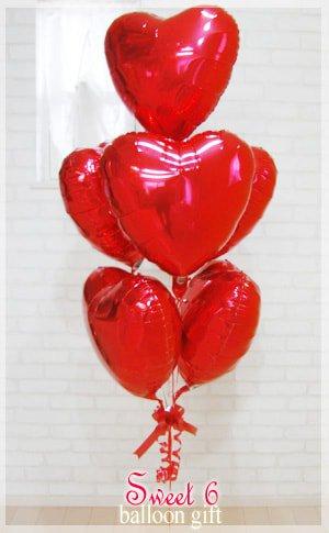 sweet 6 balloon
