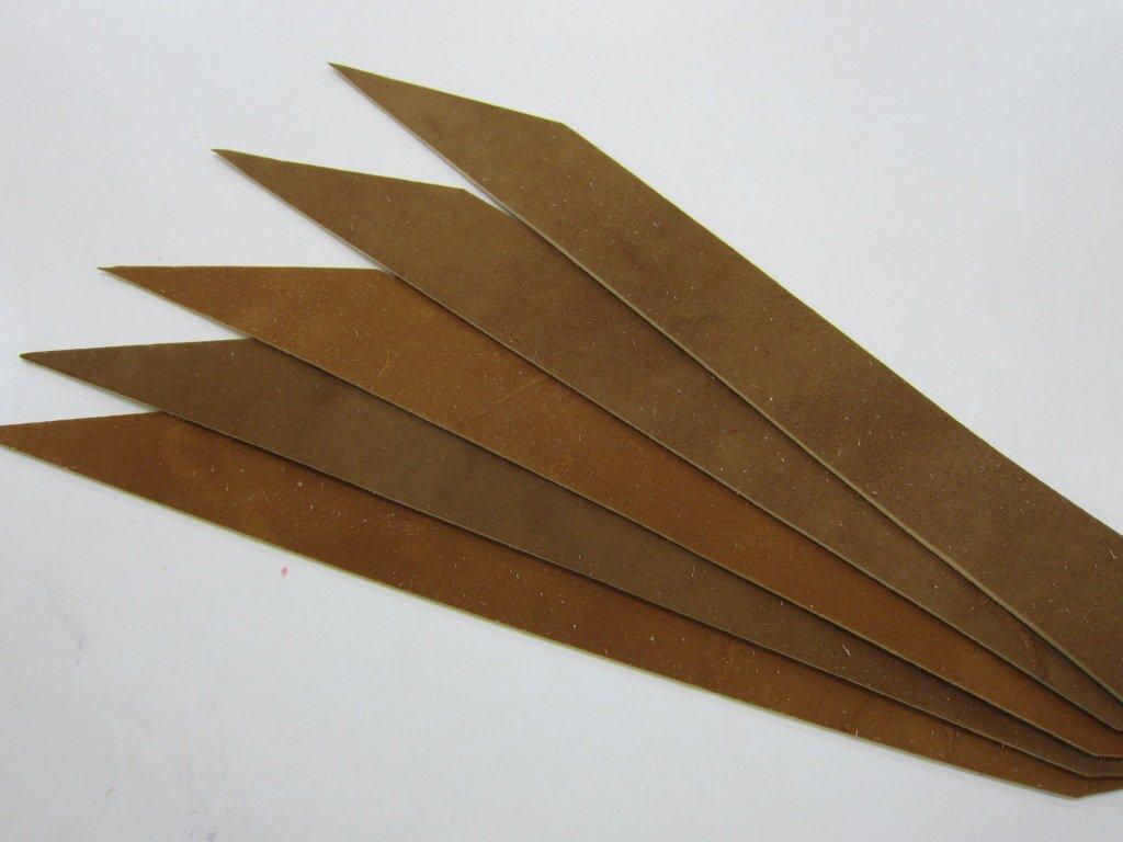 燻革製 握り革 5枚セット