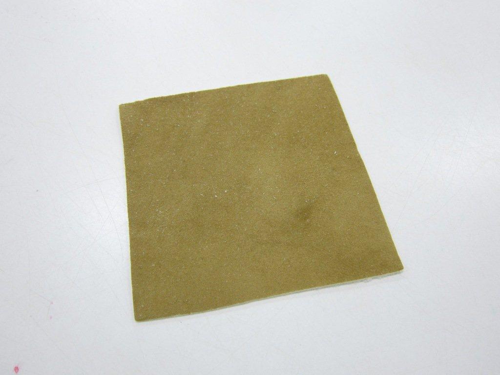 小唐握り革 茶 (四角形)
