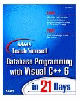 Sams Teach Yourself Database Programming With Visual C++ 6 in 21 Days (Sams...