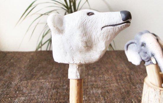 ネイチャ−ペンシル ホッキョクグマ(シロクマ)