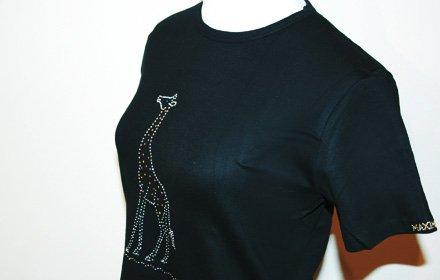 スワロフスキーTシャツ(キリン)