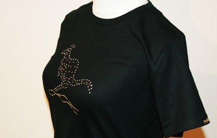 スワロフスキーTシャツ(カンガルー)