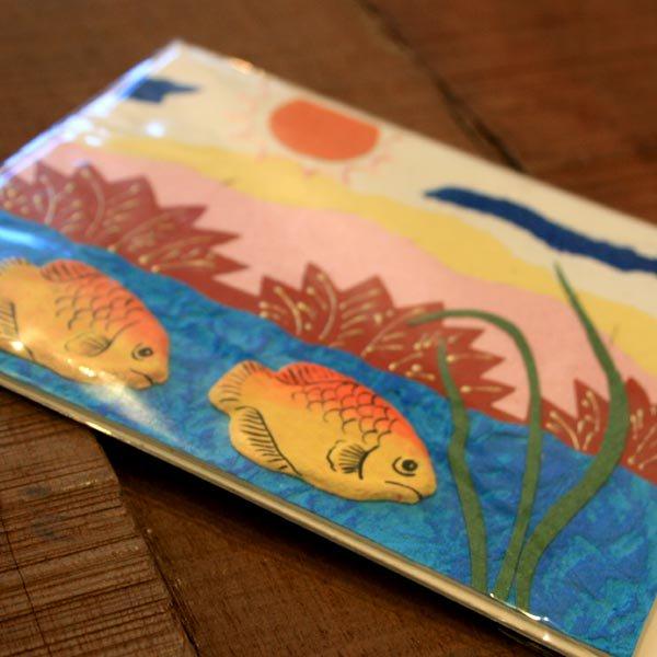 ぞうさんペーパー 海 グリーティングカード(熱帯魚-9)