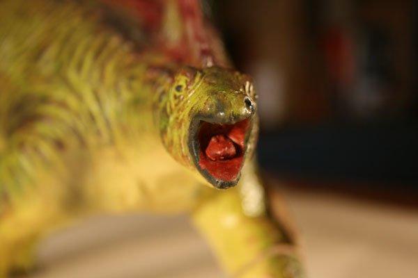 天然ゴムフィギュア・恐竜シリーズ ステゴザウルス