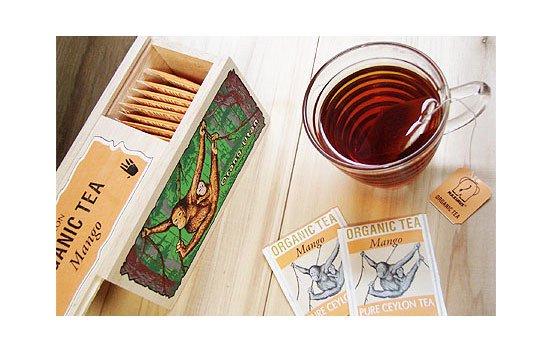 オーガニック紅茶(マンゴー) オランウータン