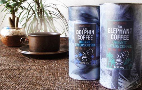 オーガニックセイロンコーヒー ゾウ