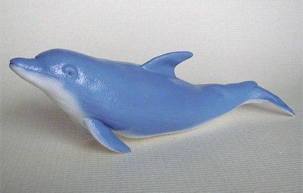 天然ゴムフィギュア イルカ