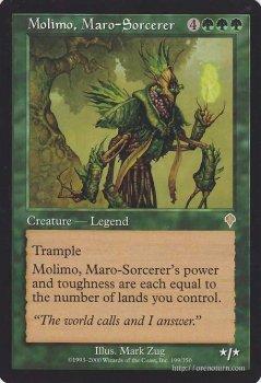 マローの魔術師モリモ/Molimo, Maro-Sorcerer 【R】 ※NM- ※英語版