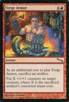 鍛冶場の鎧/Forge Armor 【U】 ※EX ※英語版