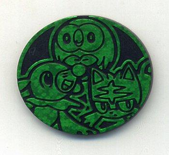 ポケモンカード サン&ムーン スターターセット ポケモンコイン(緑)
