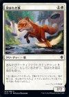 羽ばたき狐