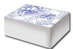 ヴァンガード オフィシャルロゴ(白) ストレージボックス