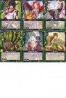黒騎神の強襲 C 緑全6種各4枚セット
