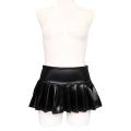 ●送料無料●エナメルミニプリーツスカート おとこの娘用