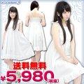 1155F★MB●送料無料●<即納!特価!在庫限り!> お出かけ白ワンピース サイズ:BIG 色:白 ■サマードレス■