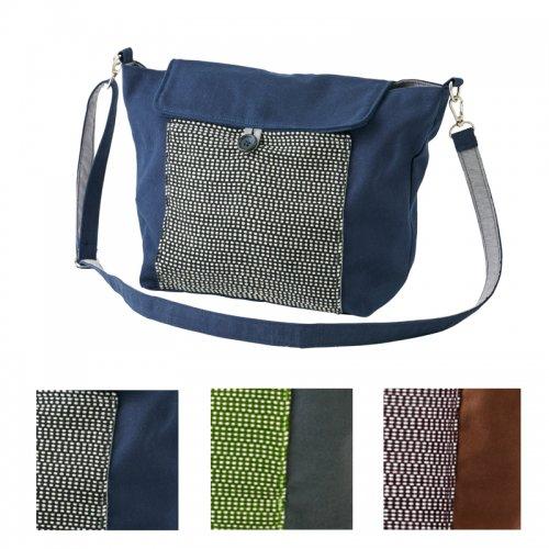 カレン族手織りショルダーバッグ