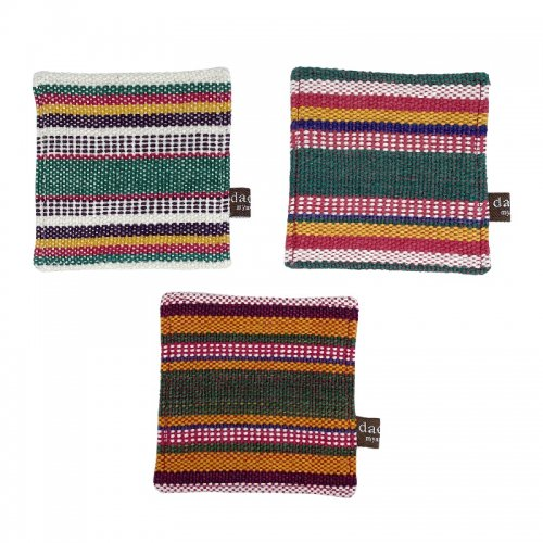 パコック手織りコースター