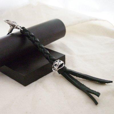 ロボがっぱのストラップ -leather-