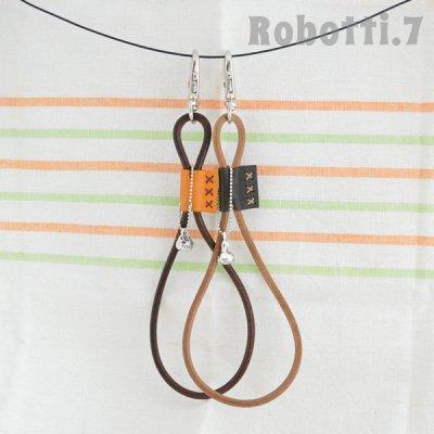 革紐キーホルダー[Leather strap]*にゃご