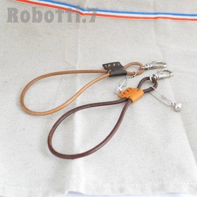 革紐キーホルダー[Leather strap]*うさぎ
