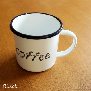����ߥ業����ޥ����å� �� Coffee Enamel Mug White �� photo 2