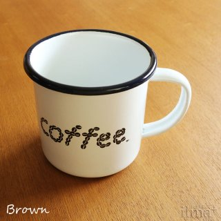 ����ߥ業����ޥ����å� �� Coffee Enamel Mug White �� photo 3