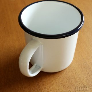 ����ߥ業����ޥ����å� �� Coffee Enamel Mug White �� photo 5