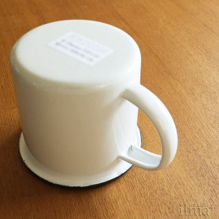 ����ߥ業����ޥ����å� �� Coffee Enamel Mug White �� photo 6
