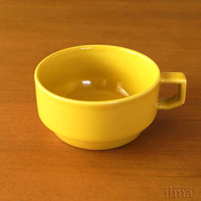 [HASAMI]�֥�å��ޥ������� �ޥ������� BLOCKMUG SOUP Mustard �� photo 1