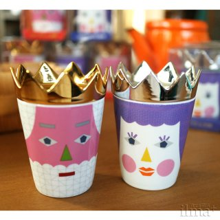 tupera tupera King Queen Cup&Dish